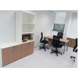 armário escritório com chave preço Jaraguá