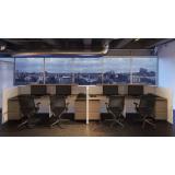 balcão para recepção de escritório preços Brooklin