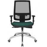 cadeira escritório giratória preço Vila Maria
