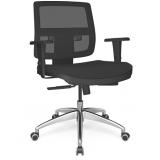 cadeira giratória para escritório preço Praça da Arvore