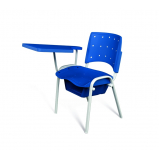 cadeira universitária azul valor Nossa Senhora do Ó