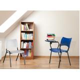 cadeira universitária azul República