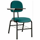 cadeira universitária estofada Jockey Clube