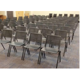 cadeiras tipo universitárias Campo Belo