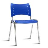 cadeiras universitárias azul Campo Belo