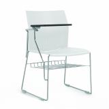 cadeiras universitárias com prancheta frontal Centro