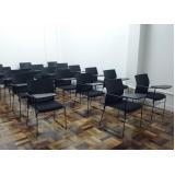 cadeiras universitárias com prancheta Socorro
