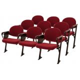 cadeiras universitárias estofada com prancheta Jardim Bonfiglioli