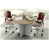 comprar mesa de reunião circular Freguesia do Ó