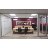 divisórias de escritório piso teto preço m2 Brás