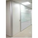 divisórias piso teto de escritório preço m2 Pinheiros