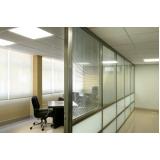 empresa de divisórias piso teto de escritório Campo Belo