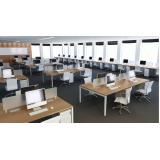 estação de trabalho escritório Santana
