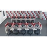 mesa call center regulável Lapa