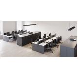 mesa de escritório branca Cidade Jardim