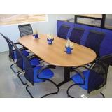 mesa de reunião 8 lugares Anália Franco