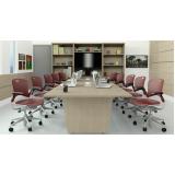 mesa de reunião com tomadas valor Jardins