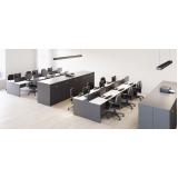 mesa para escritório branca Consolação