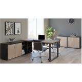 mesa para escritório de canto preços Socorro