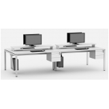 mesa plataforma para escritório Moema
