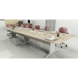 mesas de reunião com tomadas Morumbi