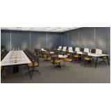 mesas para escritório branca Vila Guilherme
