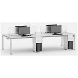 mesas plataforma de trabalho Bela Vista