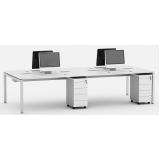 mesas plataforma escritório Pinheiros