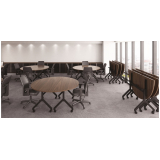 mesas redonda para escritório Ibirapuera