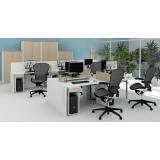 mobiliário corporativo para escritório valor Santa Cecília