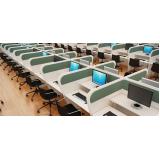 mobiliário para telemarketing Jardim Marajoara