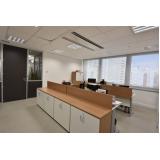 móveis para escritório de informática Luz