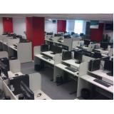 móveis para sala de informática valor Vila Buarque