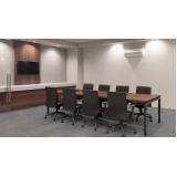 móvel para recepção de escritório Glicério